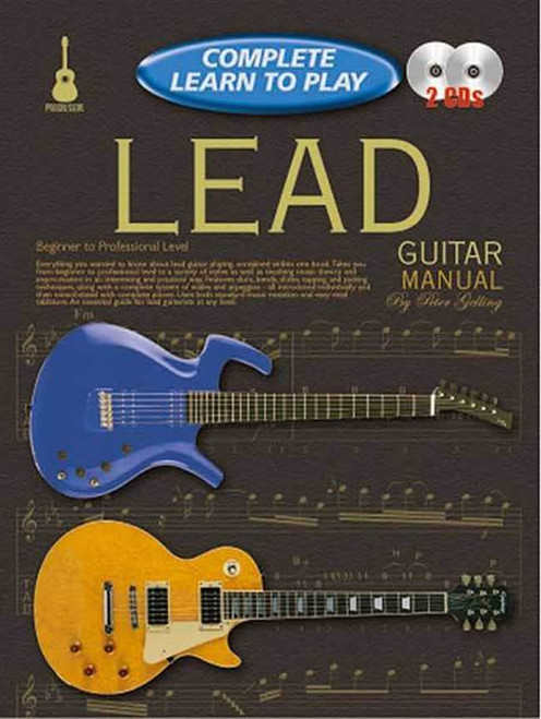 Progressive Complete Learn to Play Lead Guitar - Book & 2 CDs