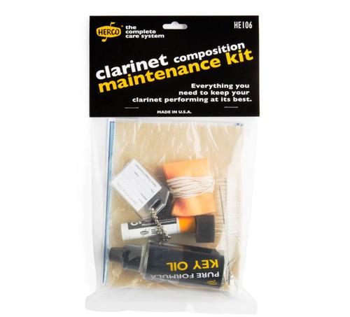 Herco Composite Clarinet Maintenance Kit