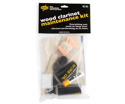 Herco Wood Clarinet Maintenance Kit