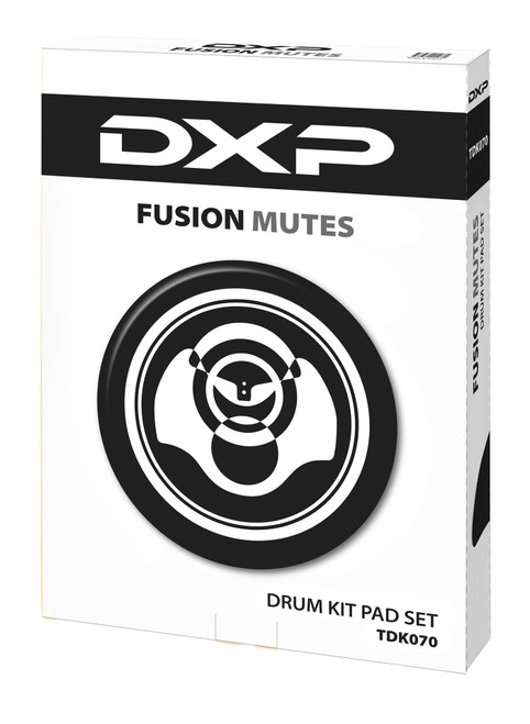 DXP 7 Piece Soft Rubber Pad Set - Fusion Kit