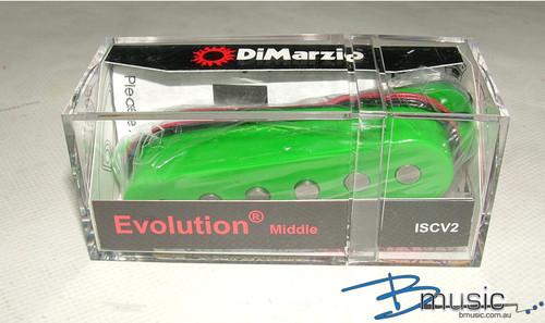 DiMarzio ISCV2 Evolution® Middle Green