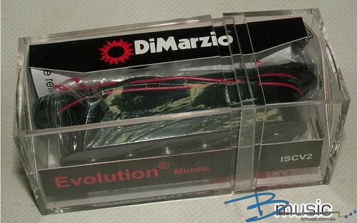 DiMarzio ISCV2 Evolution® Middle Black