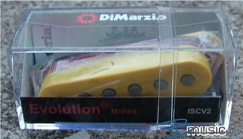 DiMarzio ISCV2 Evolution® Middle Yellow