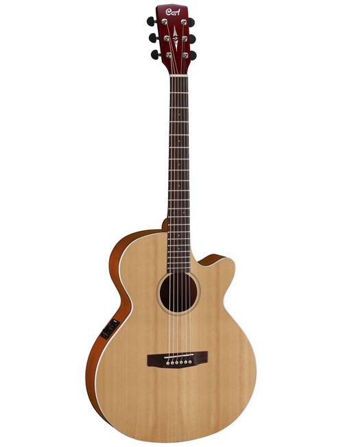 Cort SFX1F Acoustic/Electric Cutaway - Natural Satin