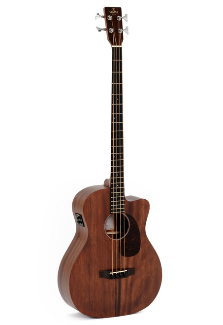 Sigma BMC-15E Acoustic/Electric Bass Guitar