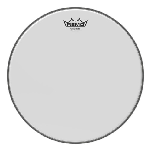 Remo Smooth White™ Ambassador® Drum Head