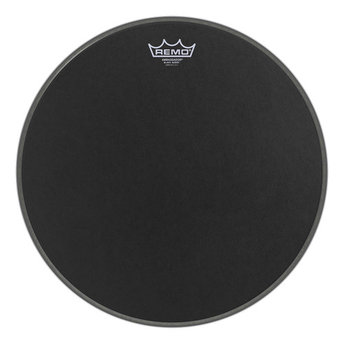 Remo Black Suede® Ambassador® Drum Head