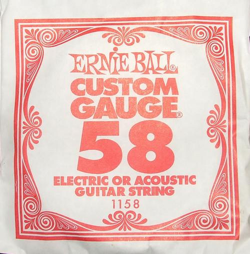 Ernie Ball .058 Wound Single Electric String