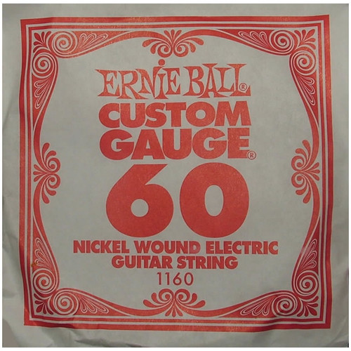 Ernie Ball .060 Wound Single Electric String