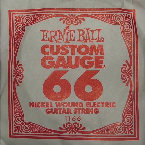 Ernie Ball .066 Wound Single Electric String