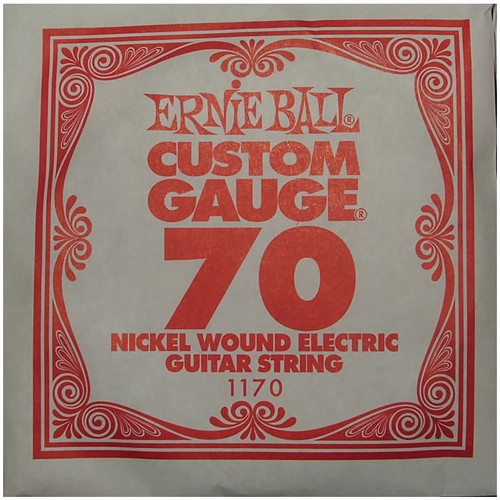 Ernie Ball .070 Wound Single Electric String