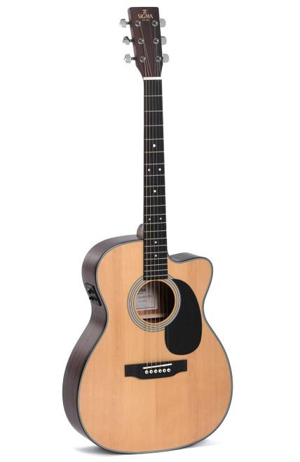Sigma 000MC-1E Acoustic/Electric Guitar