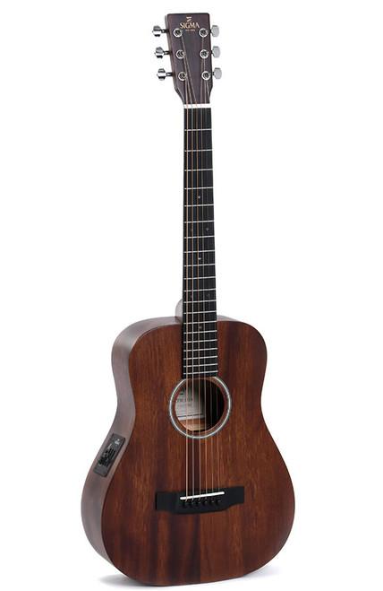Sigma TM-15E Travel Guitar with Pickup