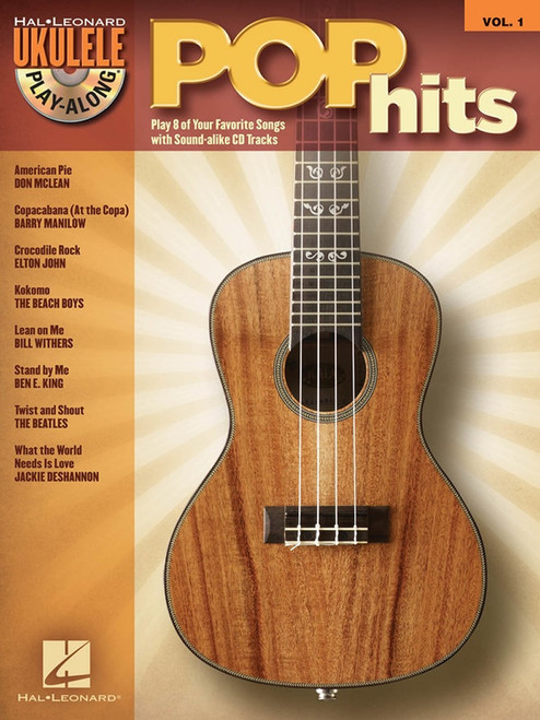 Pop Hits Ukulele Play Along Book/CD Volume 1