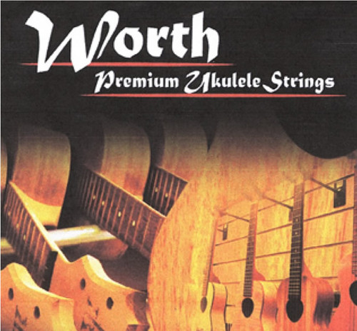 Worth Soprano/Concert Ukulele Low G Set - Clear