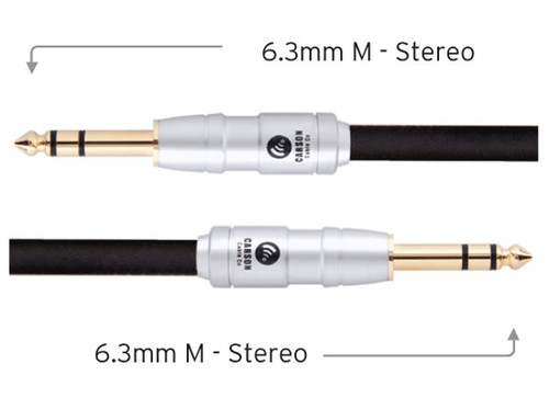 Carson Rocklines 6' Stereo Instrument/Audio Cable