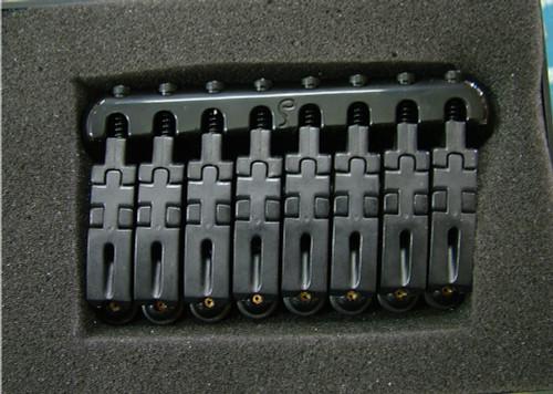 Schaller Hannes® 8-string Bridge - Black