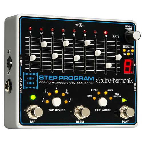 Electro-Harmonix 8 Step Program Analog Expression/CV Sequencer