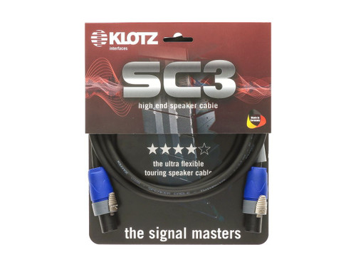 Klotz SC3 Speakon to Speakon 3m Speaker Cable