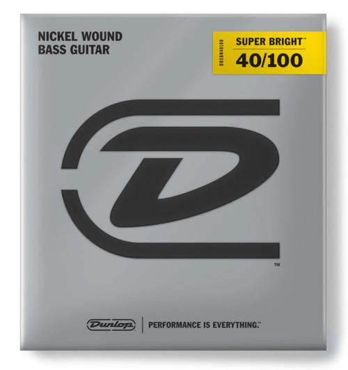 Dunlop Nickel Wound Super Bright 4-String Light Set