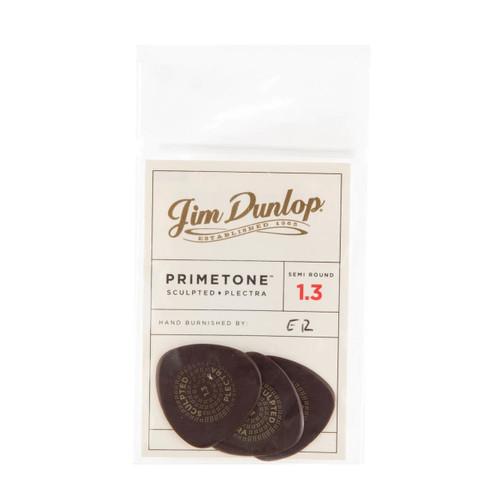 Jim Dunlop Primetone™ 1.30mm Semi Round Players Pack