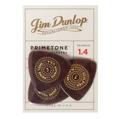 Jim Dunlop Primetone™ 1.40mm Triangle Players Pack