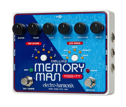 Electro-Harmonix Deluxe Memory Man w/Tap Tempo 1100