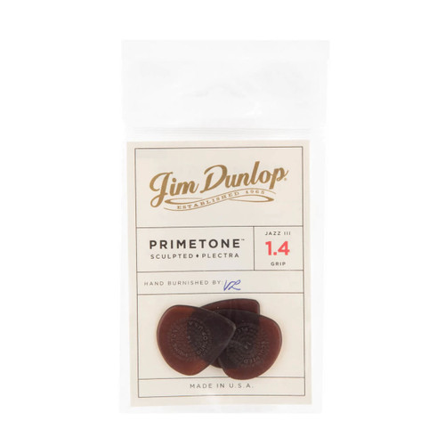 Jim Dunlop Primetone™ Jazz III Grip Players Pack