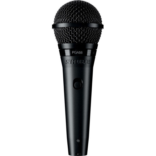 Shure PGA58 Dynamic Vocal Microphone with XLR-QTR Cable