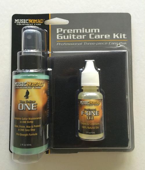 Music Nomad Premium Guitar Care Kit - 3 piece
