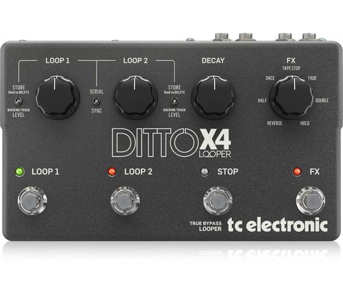 TC Electronic Ditto X4 Dual Track Looper