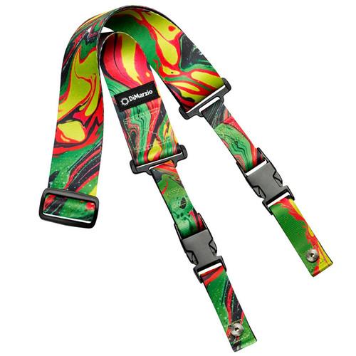 DiMarzio DD2241 Steve Vai Green Universe ClipLock® Strap