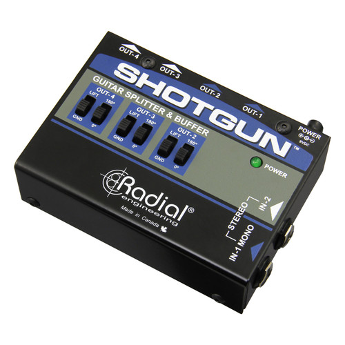 Radial Engineering Shotgun™ 4 Channel Amp Driver