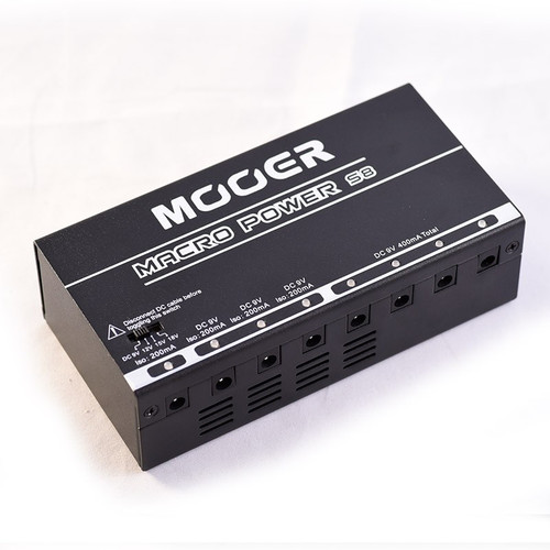 Mooer Macro Power S8 8 Outlet Isolated Power Supply