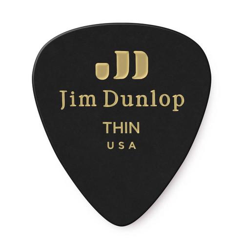 Jim Dunlop Black Classics Genuine Celluloid Pick