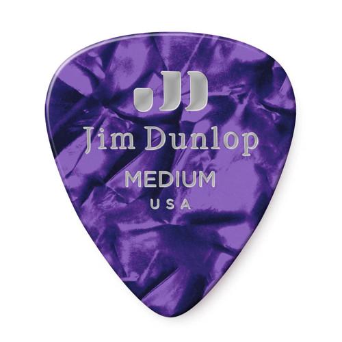 Jim Dunlop Purple Pearl Classics Genuine Celluloid Pick