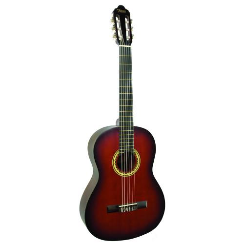 Valencia VC204 4/4 Classical Guitar - Classic Sunburst