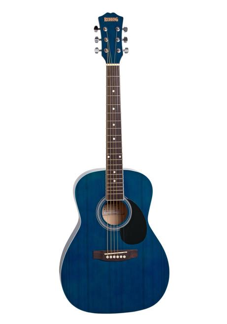 Redding 3/4 Size Trans Blue Dreadnought Acoustic