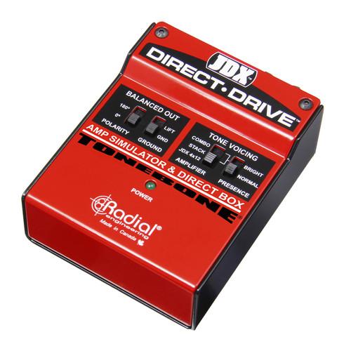Radial Engineering JDX Direct-Drive™ Amp Simulator & DI