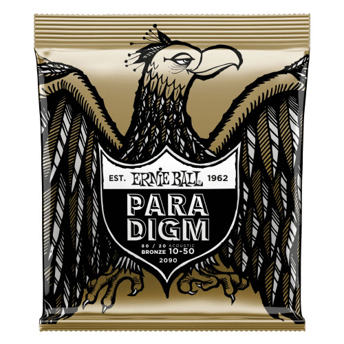 Ernie Ball Paradigm 80/20 Bronze Acoustic Strings