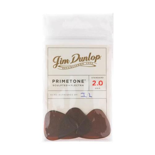 Jim Dunlop Primetone® 2.0mm Standard GRIP Players Pack