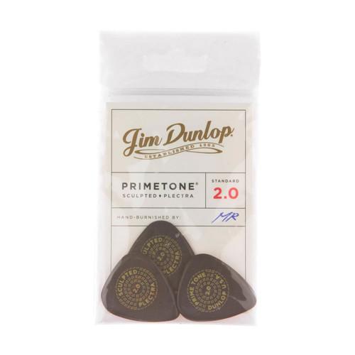 Jim Dunlop Primetone® 2.0mm Standard Smooth Players Pack