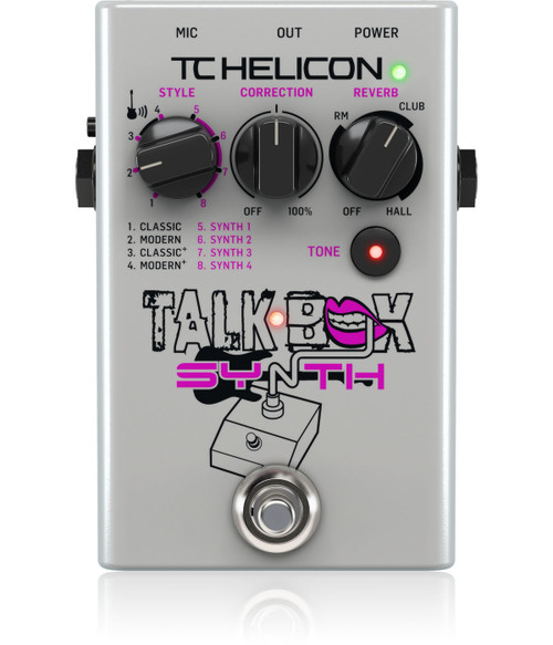 TC Helicon Talk Box Synth Pedal