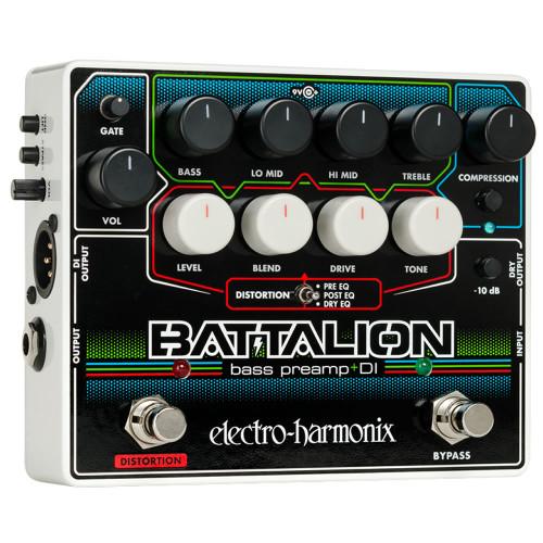Electro-Harmonix Battalion Stallion Bass Preamp & DI
