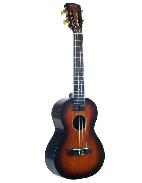 Mahalo Java Series Tenor Ukulele - 3-Tone Sunburst