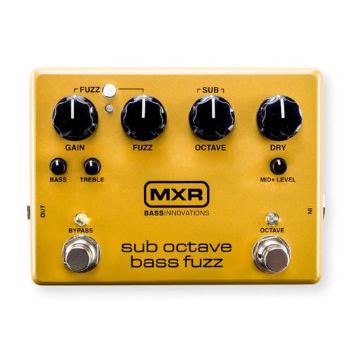 MXR® M287 Sub Octave Bass Fuzz Pedal