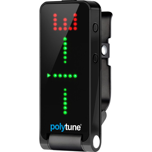 TC Electronic PolyTune 2 Black Clip-On Tuner