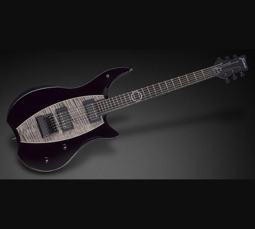 Framus Teambuilt Devin Townsend Stormbender - Nirvana Black High Polish