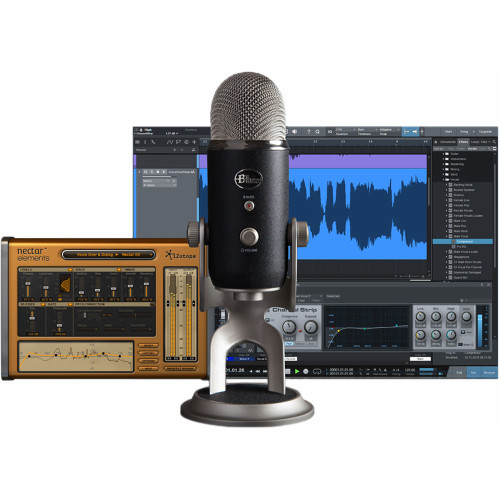 Blue Yeti Pro Studio Ultimate All-in-One Recording System