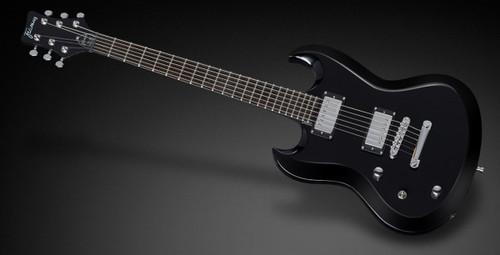 Framus FAL Phil XG Solid Black High Polish Left-Hand